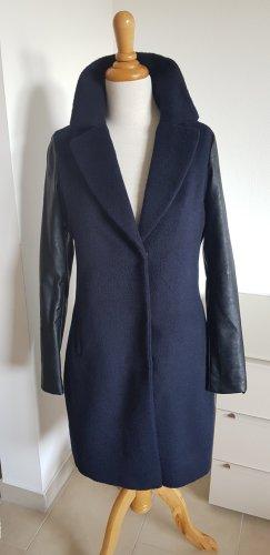 Eksept Mantel zwei farbig blau schwarze Gr.XS