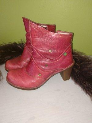 El Naturalista-Boots-Stiefeletten-Rot