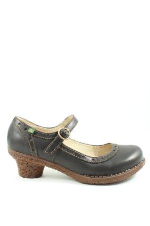 El Naturalista Chaussures Mary Jane noir style décontracté