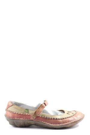 El Naturalista Zapatos Mary Jane rosa-blanco puro look casual