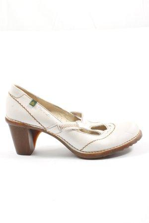 El Naturalista Mary Jane Pumps white elegant