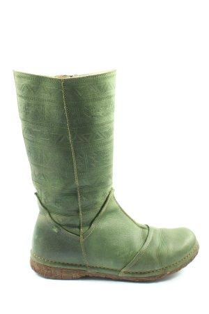 El Naturalista Schaftstiefel grün Casual-Look
