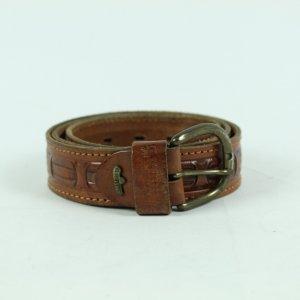 Vintage Cintura di pelle cognac Pelle