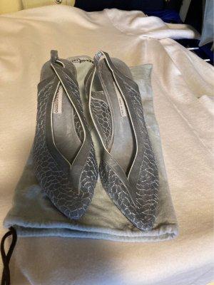 el Vaquero Slingback Pumps grey