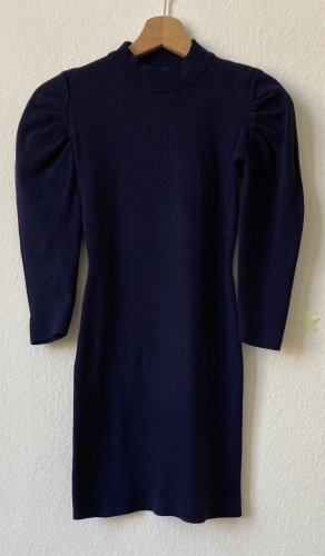 Ela Sukienka z dekoltem typu halter ciemnoniebieski
