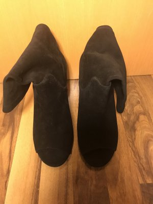 Michael Kors Peep Toe laarsjes zwart