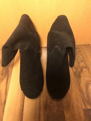 Michael Kors Peep Toe Booties black