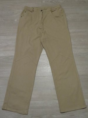 Canda Pantalone cinque tasche beige Cotone