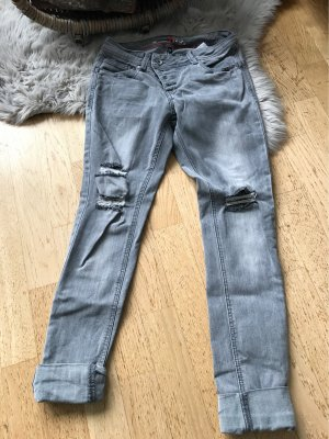Buena Vista Jeans boyfriend gris clair