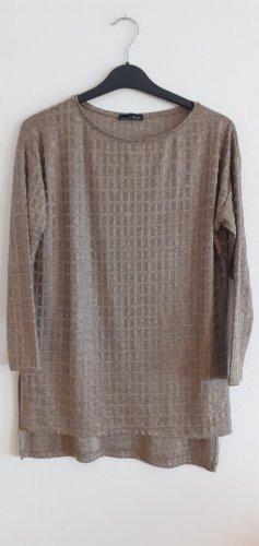 Zara Túnica color bronce