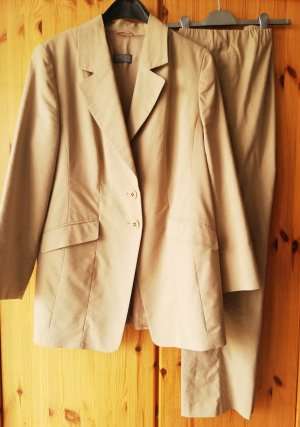 Selection by Ulla Popken Business Suit sand brown-beige