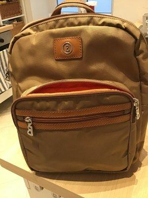 Bogner Laptop Backpack light brown-neon orange polyester