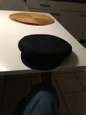 100% Fashion Gorra de plato negro
