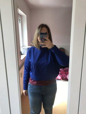 Adidas Cárdigan de punto fino azul