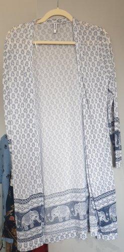 Colloseum Giacca in maglia bianco-azzurro