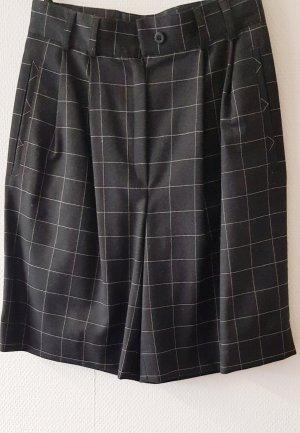 ae elegance Wełniane spodnie jasnoszary-antracyt