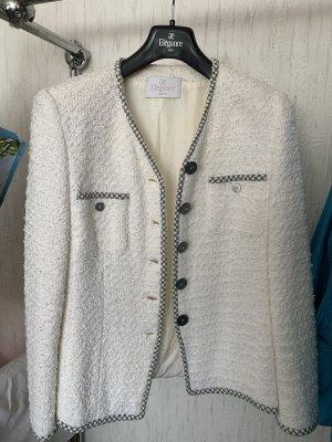 ae elegance Tweed Blazer white