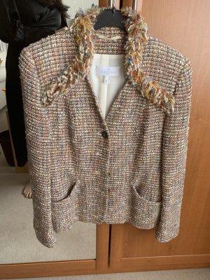 ae elegance Tweed Blazer beige-light brown