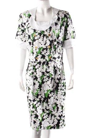 Elegance Boutique Blusenkleid Blumenmuster