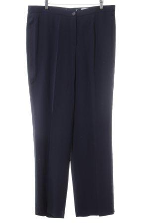 Elégance Pantalón de pinza negro estilo «business»