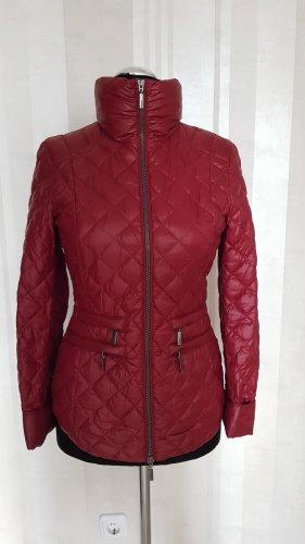ae elegance Doudoune rouge carmin