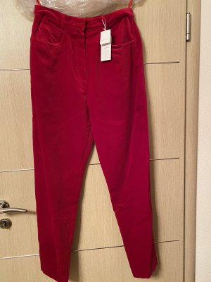 ae elegance Jersey Pants red