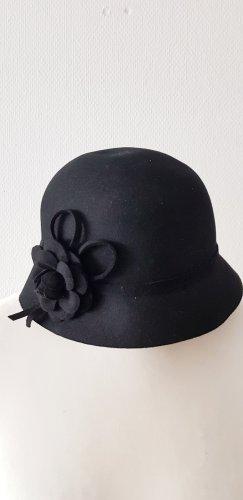 ae elegance Chapeau en feutre noir
