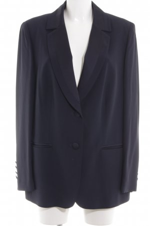 Elégance Jerseyblazer blau Business-Look
