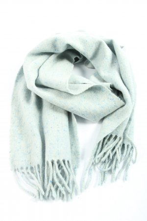 Elégance Cashmere Scarf turquoise casual look