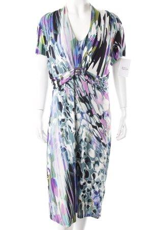 Elegance Kleid Gemustert