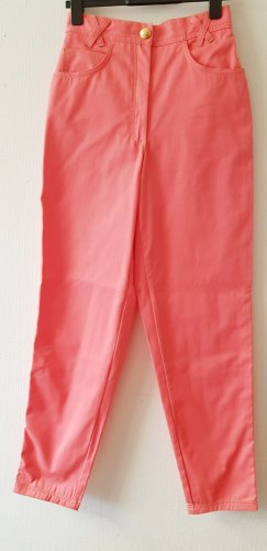 ae elegance Jeans taille haute abricot-saumon