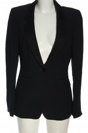 Elégance Paris Klassischer Blazer schwarz Business-Look