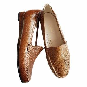 ae elegance Mocassins brun cuir