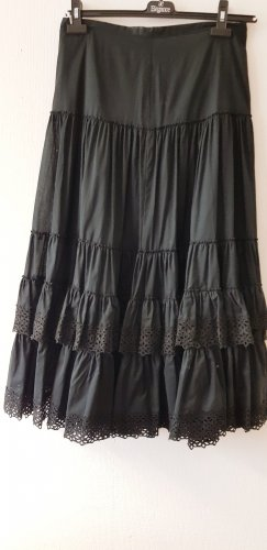 ae elegance Broomstick Skirt black