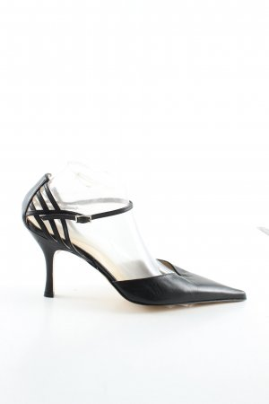 Elégance Paris Spitz-Pumps schwarz Business-Look