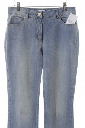 Elégance Paris Straight-Leg Jeans hellblau Casual-Look
