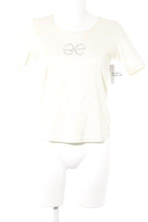 Elégance Paris T-Shirt hellgelb sportlicher Stil