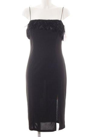 Elégance Paris Trägerkleid schwarz