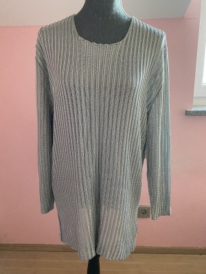 ae elegance Long Sweater silver-colored