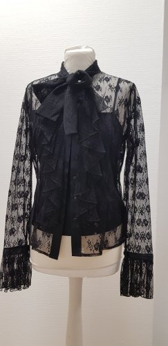 ae elegance Lace Blouse black