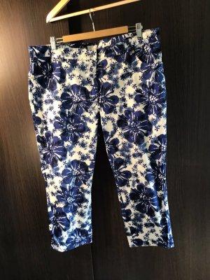 ae elegance Pantalon 3/4 multicolore coton