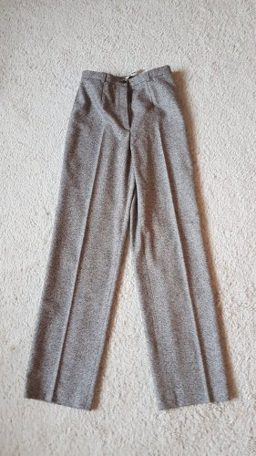 ae elegance Woolen Trousers grey-natural white