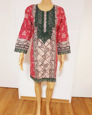 Elegant Embroidery Baumwolle Sommer Tunika original Designer by Ramsha Gr: M