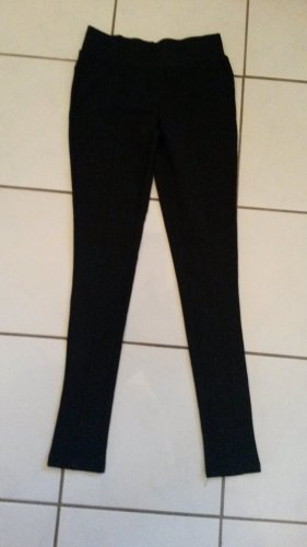 Pantalon d'équitation noir coton