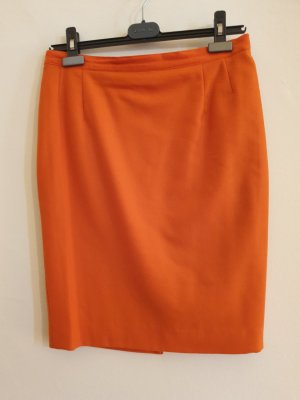 Elegant oranger M e r i n o Wollrock - Stajan trendige Trachtenmode