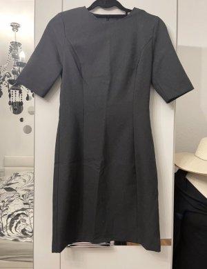 Benetton Sukienka z krótkim rękawem szary-ciemnoszary