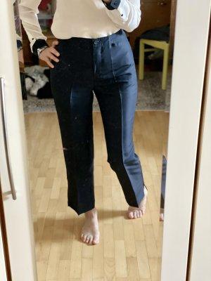 Taifun Pleated Trousers dark blue