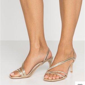 Head over heels High Heel Sandal gold-colored