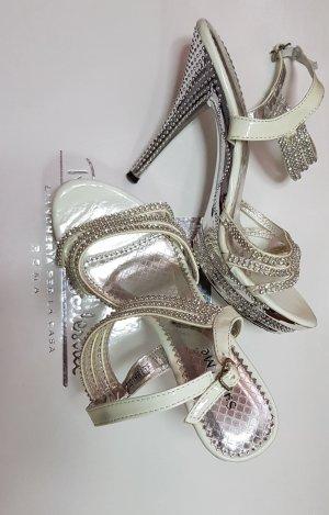 Super Me Dianette sandalen neongeel