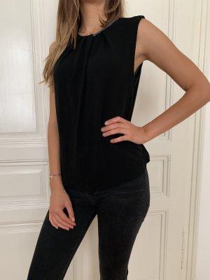 elegante, ärmellose Bluse